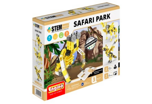 STEM Toy | Engino Stem Heroes Safari Park