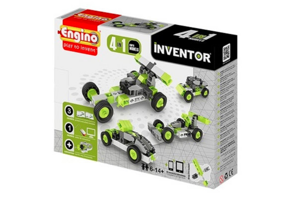 STEM Toy | Engino Inventor 4 Models Cars
