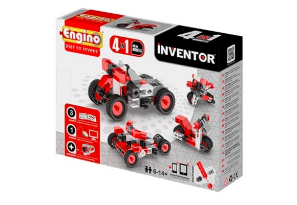 STEM Toy | Engino Inventor 4 Models Motorbikes