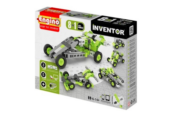 STEM Toy | Engino Inventor 8 Models Cars