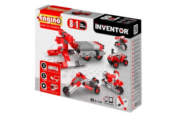 STEM Toy | Engino Inventor 8 Models Motorbikes