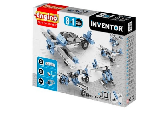 STEM Toy | Engino Inventor 8 Models Aircraft