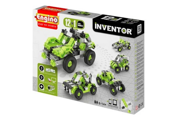 STEM Toy | Engino Inventor 12 Models Cars