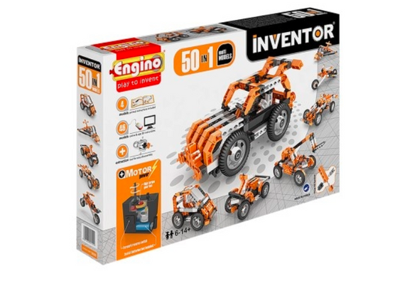 STEM Toy | Engino Inventor Motorized 50 Multi Models