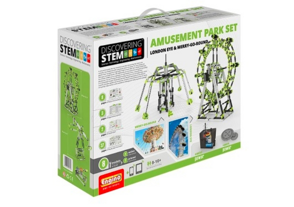 STEM Toy | ENGINO Discovering Stem Amusement Park Set