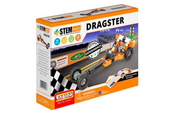 STEM Toy | ENGINO | Stem Heroes Dragster
