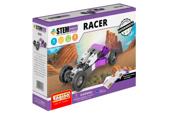 STEM Toy | ENGINO | Stem Heroes Racer