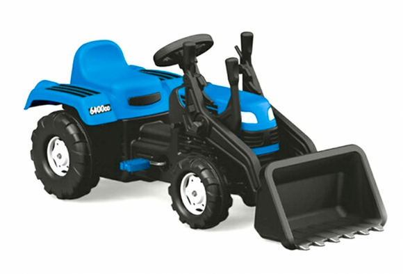 Kids Ride-On | Dolu - Ranchero Tractor Pedal Operated With Excavator