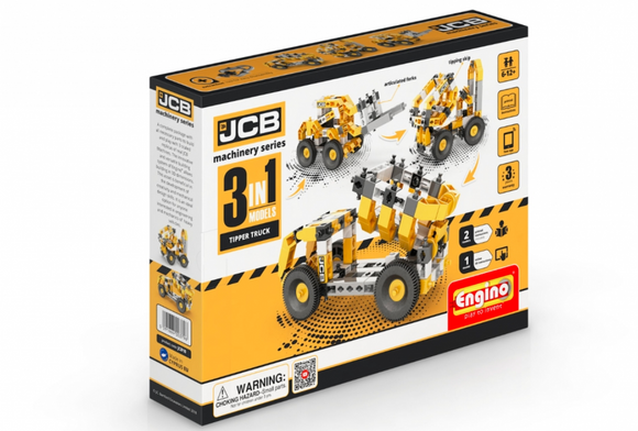STEM toy | ENGINO | JCB Construction Tipper Truck