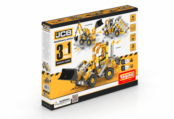 STEM Toy | ENGINO | JCB Construction Wheeled Loader