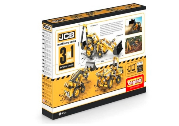 STEM Toy | ENGINO | JCB® Construction Backhoe Loader