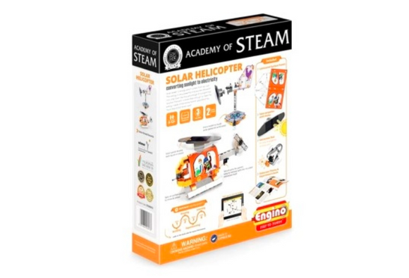 STEM Toy | ENGINO | Academy Of Steam Solar Helicopter