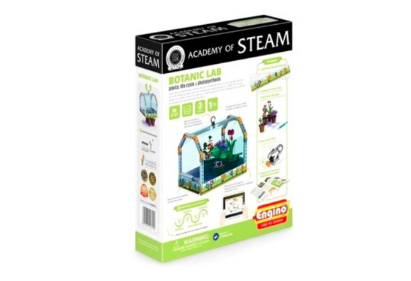 STEM Toy | ENGINO | Academy Of Steam Botanic Lab