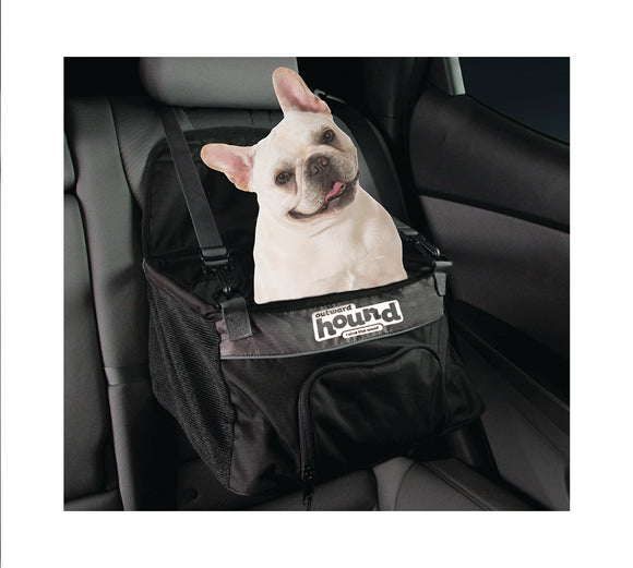 Dog Car Seat | Outward Hound Lookout Booster Car Seat