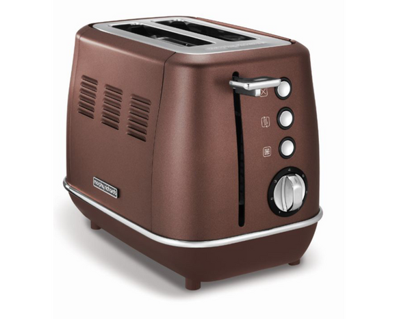 Morphy Richards Toaster 2 Slice Stainless Steel Bronze 900W