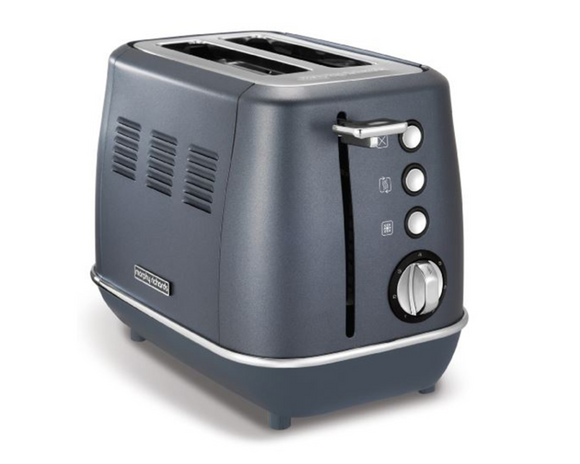 Morphy Richards Toaster 2 Slice Stainless Steel Blue 900W