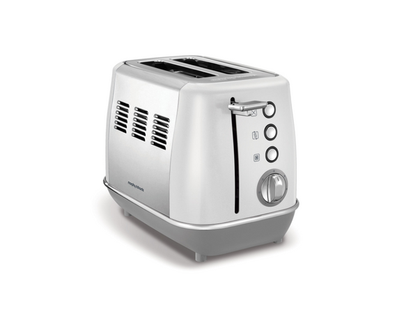Morphy Richards Toaster 2 Slice Stainless Steel White 900W