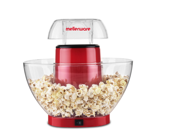 Mellerware Popcorn Maker Plastic Red 4.5L 1200W