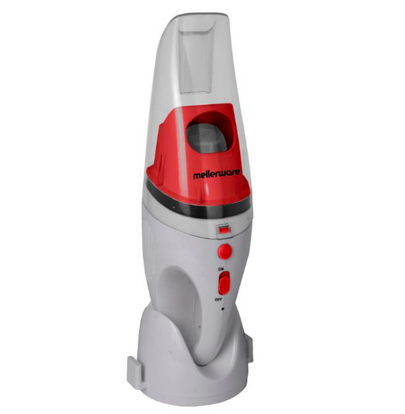 Mellerware Vacuum Cleaner Wet & Dry Plastic Grey 480ml 4.8V