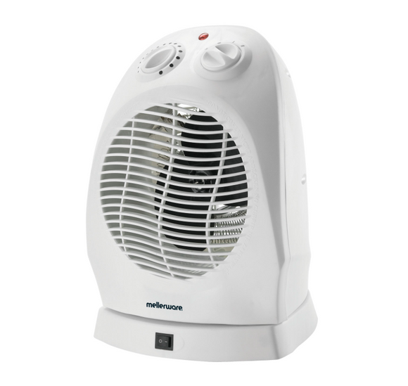 Mellerware | Oscillating Fan Heater