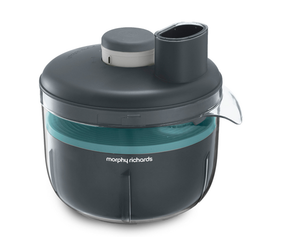 Morphy Richards Food Processor Variable Speed Plastic Grey 4L 210W