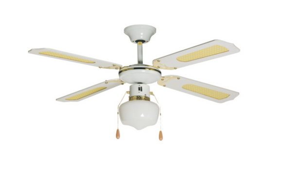 Ideal 105cm  1 Light Ceiling Fan