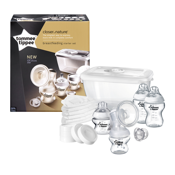 Tommee Tippee CTN BREAST FEEDING STARTER KIT