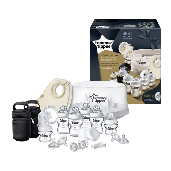 Tommee Tippee CTN MICROWAVE STERILIZER & BREAST PUMP KIT