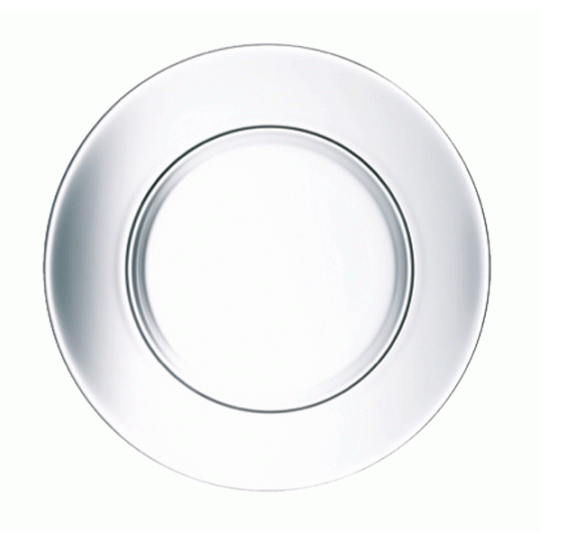 DIRECTOIRE CLEAR SIDE PLATE 19.5 CM (Set of 12)