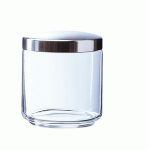 MANIA GLASS JAR & METAL LID 750ML