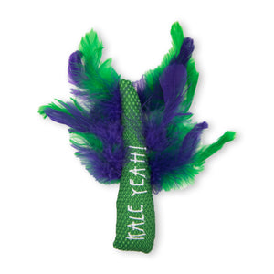 Cat Toy | Petstages Krazy Kale Feather Toy