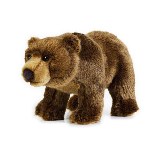Kids Plush Toy | National Geographic Plush - Grizzly Bear