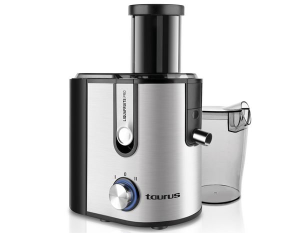 Taurus Juice Extractor Stainless Steel Brushed 800W