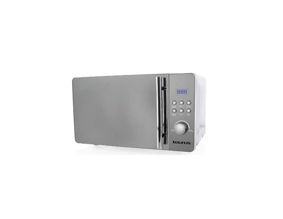 Taurus Microwave 5 Power Levels Silver 20L 700W