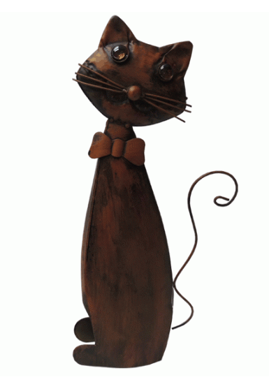 Garden | METAL SENOR CAT 52 CM