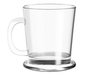 Clear Glass Mug | ARABICA MUG 180ML
