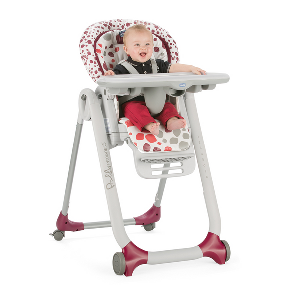 Chicco Polly Progress 5 Highchair – Cherry