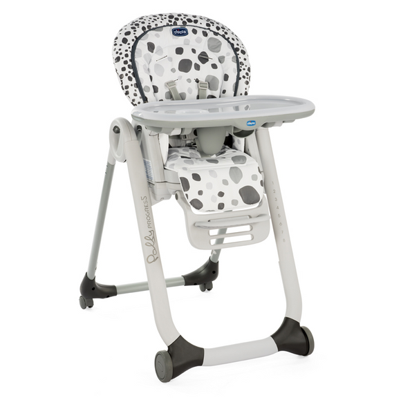 Chicco Polly Progress 5 Highchair – Anthracite