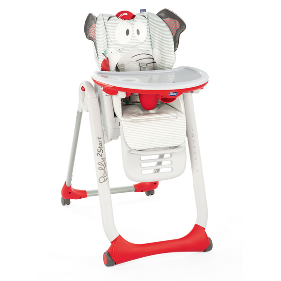 Chicco Polly 2 Start Highchair – Baby Elephant