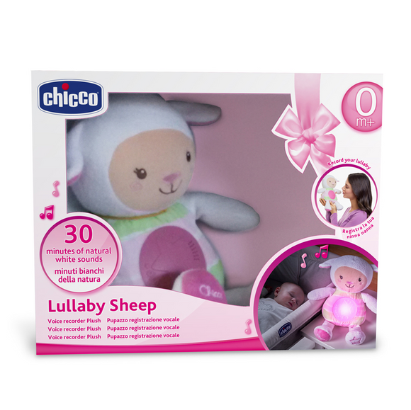 Chicco Lullaby Sheep Baby Night Light – Pink