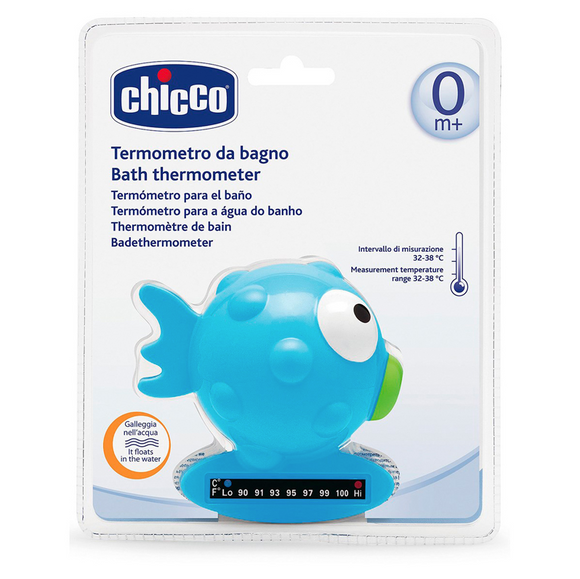 Baby Bath Thermometer Globe Fish – Blue