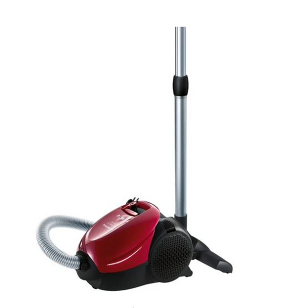 BOSCH 1700W Bagged Vacuum Cleaner Red - BSN1701RU