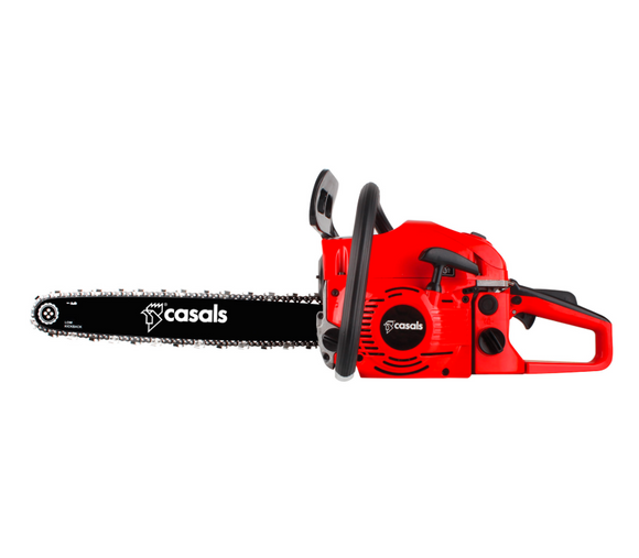 Casals | Chainsaw Petrol Plastic Red 460mm 52CC