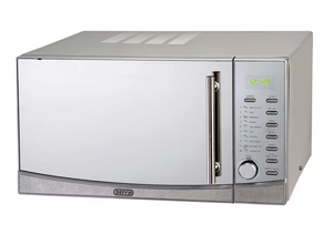 DEFY 34L Grill Microwave Oven Stainless Steel