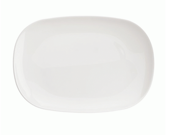 ARC SWEET LINE WHITE PLATTER 34X24CM