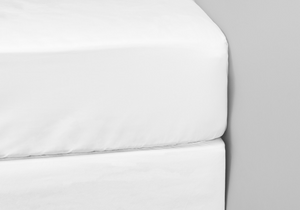 1000 Thread Count White 3/4 Fitted Sheet
