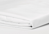 550 Thread Count White King Fitted Sheet