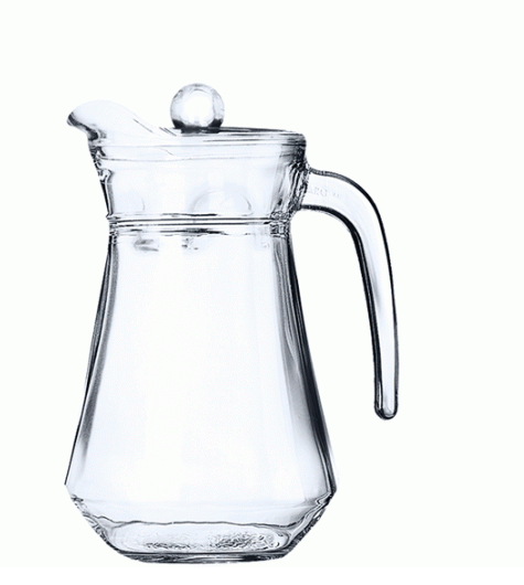 Glass Jug | ARC JUG 1L WITH LID