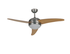 "Goldair 52"" 3 Blade 1 Light Ceiling Fan with Remote"
