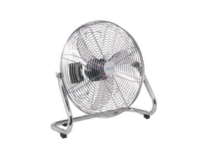 "Goldair 18"" High-Velocity Floor Fan - Chrome"